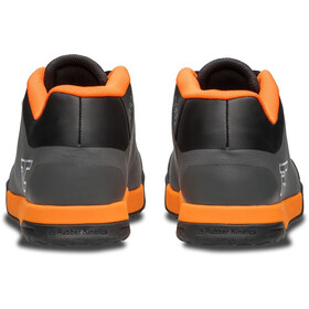 Ride Concepts Powerline Schuhe Herren charcoal/orange